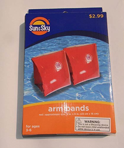 Inflatable Arm Bands by Sun & Sky