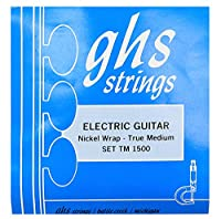 GHS ジーエイチエス エレキギター弦 TM1500 NICKEL ROCKERS WOUND 3RD - True Medium
