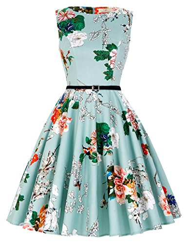 GRACE KARIN A-Line 60s Casual Dresses for Women...