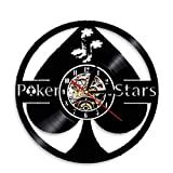 tyjsb Lucky Poker Ace of Spades Disco de Vinilo Arte de la Pared 5 Estrellas...