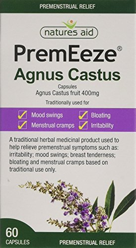 (Pack Of 2) PremEeze Agnus Castus 400mg | NATURES AID HEALTH PRODUCTS