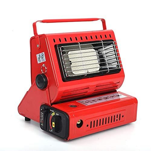 ZhengELE Estufa de calefacción al Aire Libre Manija portátil Multifuncional Cassette Giratorio Tanque de Gas licuado Calentador de Gas licuado para campaña Tienda RV