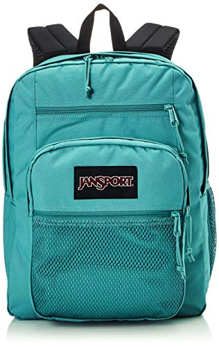Jansport Big Campus Backpack - Lightweight 15-inch Laptop Bag, Classic Teal