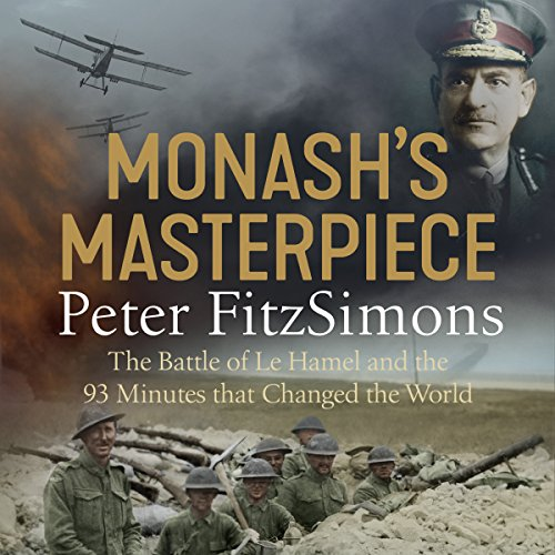 Monash's Masterpiece audiobook cover art
