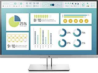 HP EliteDisplay E273 27-Inch Screen LED-Lit Monitor Black/Silver (1FH50A8#ABA) (B077BPM71P) | Amazon price tracker / tracking, Amazon price history charts, Amazon price watches, Amazon price drop alerts
