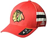 Chicago Blackhawks NHL 2017ufficiale Adidas Draft Day Cap, Uomo, Nhl Pro Collection Draft Cap, Red