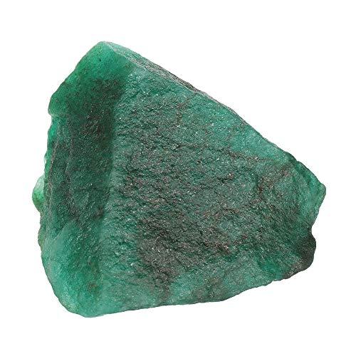 Real Gems AAA + Esmeralda Verde brasileña Natural 938.00 CT Piedra en Bruto, minerales crudos 1 Pieza de Piedras Preciosas de Esmeralda Sueltas