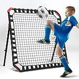 Soccer Gifts, Kids & Teens Football Games - Rebounder, Kick-Back Practice Net for Skill Training
