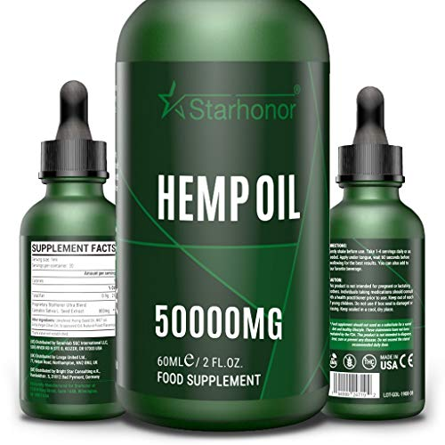 2020 Best Combination Natural Oil,Natural Ingredients,Non GMO,GMP Standards (60ML-50000mg)