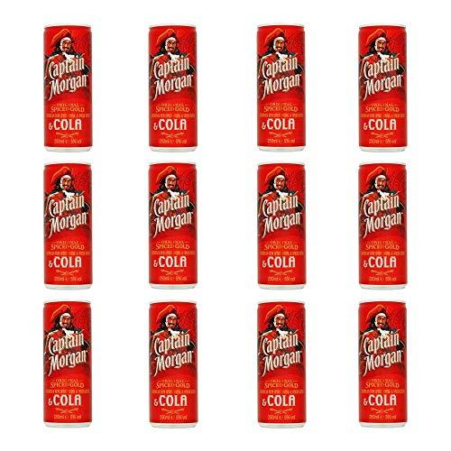 Morgans Gewürz- und Cola-Dosen 12 x 250ml