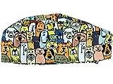 GIMA FANTASY CAP - Perros - Tamaño mediano (M), recomendado para hombres y mujeres con cabello corto o medio largo.