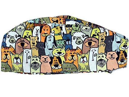 GIMA FANTASY CAP - Perros - Tamaño mediano (M), recomendado para hombres...