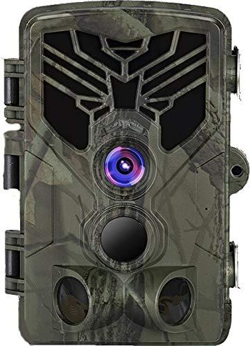 24MP WLAN Wildkamera WiFi830 mit APP Bluetooth Full HD Black LED 0,3 Sek Trigger 120° Fotofalle Überwachungskamera Jagdkamera Jagd Wild Kamera Hunting Trail Camera SUNTEKCAM WiFi 830
