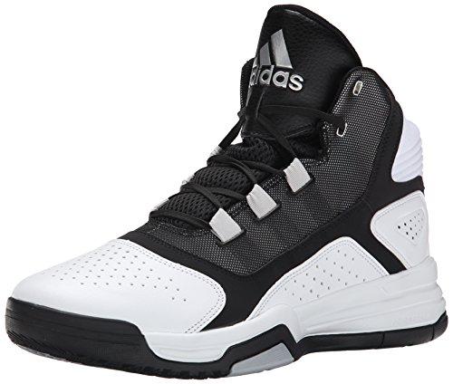 adidas Performance Men's Amplify Basketball Shoe, White/Black/Silver,...