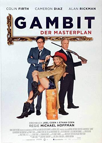 Gambit - Der Masterplan - Cameron Diaz - Filmposter 37x53cm gerollt