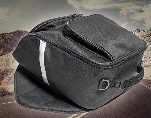 Büchel Motorrad Tankrucksack mit wasserdichter Abdeckung, schwarz, 81610000