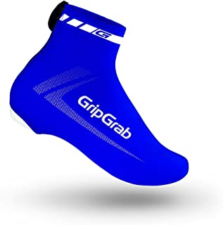 GripGrab Unisex's RaceAero Bike Summer Aero Overshoes-Lightweight Lycra Cycling Shoe-Covers for Time Trial and Road Racing