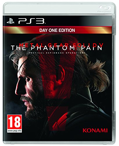 Metal Gear Solid V: The Phantom Pain (PS3) - Versión PAL U.K. en Inglés, incluye subtitulos en Español