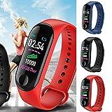 SF Smart Watch M3 Band Blood Pressure Wristband Bracelet Fitness Tracker Heart Rate