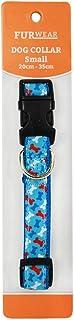 Furwear Dog Fashion Collar, 20-35cm, Blue