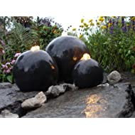 London Terrazzo Spheres Water Feature