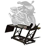Black Widow BW-550 Hydraulic Motorcycle Lift