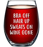Holiday Gift Guide for Wine Lovers Bra Off Hair Up