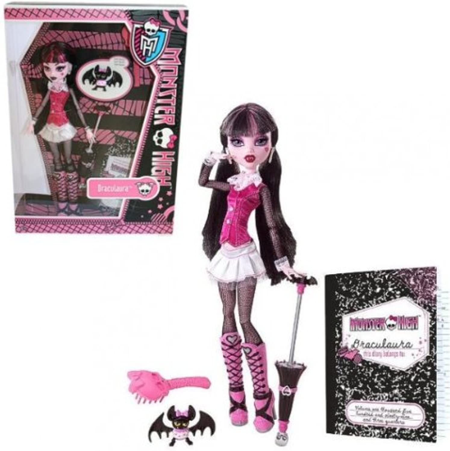 Monster High Draculaura mit Count Fabulous