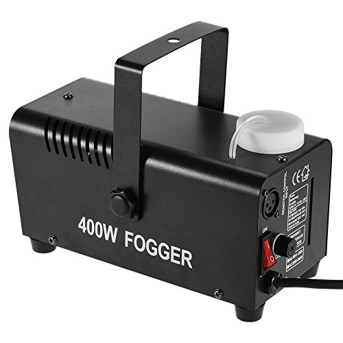 ammoon Wireless 400 Watt Fogger Fog Smoke Machine with Remote Control for Party Live Concert DJ Bar KTV Stage Effect (Type 1)