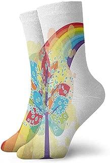 Pattern Socks,Socks For Flats,Sock For Men,Rainbow3.3