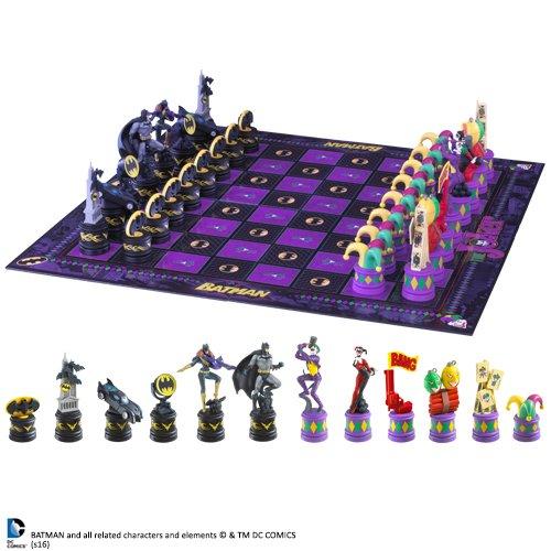 The Noble Collection Juego de ajedrez Batman