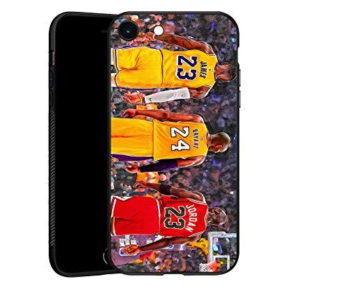 Carcasa para iPhone 6/6S Top 3 de la historia, TPU negro ultrafina para iPhone 6/6S