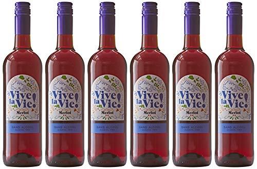 Vive la Vie - Vin Rouge Sans Alcool - 6x75cl