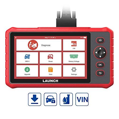 LAUNCH CRP909X OBD2-Diagnosegerät 15 Service-Reset Öl-Service EPB DPF LWS Kalibrierung etc, ALLE Systeme zugreifen, Mehrsprachig, Touchscreen