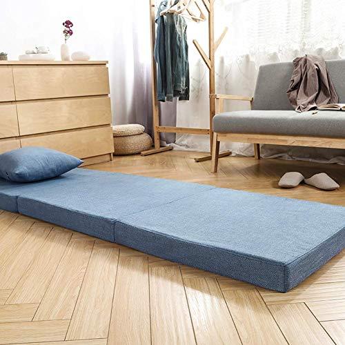 AA-mattress Chuang Dreifachgefaltete faltende Futon-Schlafenboden-Matratze, dreifachgefaltete Bettauflage Schaum-Futonmatte der hohen Dichte für Büro Auto-Erkerfenster