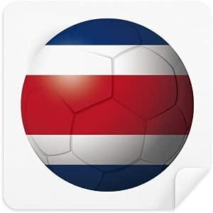DIYthinker Costa Rica National Flag Soccer Football Glasses Cleaning C...