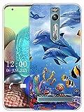 Sunrive Kompatibel mit Asus Zenfone 2 ZE551ML Hülle Silikon, Transparent Handyhülle Schutzhülle Etui Hülle (X Wal)+Gratis Universal Eingabestift MEHRWEG