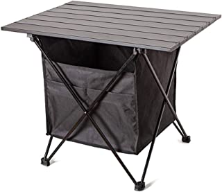 Portable Folding Outdoor Picnic Table, Small Camping Folding Table with Storage Bag, Light Garden Picnic Barbecue Table, A...
