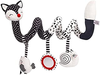 Baby Spiral Activity Hanging Toys Stroller toys Cart Seat Pram Toy with Ringing Bell JB-Tong