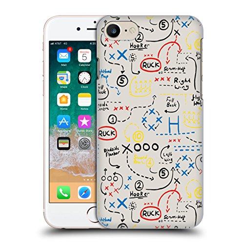 Head Case Designs Licenza Ufficiale England Rugby Union Gioco più Vecchio Bambini Cover Dura per Parte Posteriore Compatibile con Apple iPhone 7   iPhone 8   iPhone SE 2020