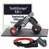 Sportastisch Top Produkt¹ Bauchroller 3 Wheeler,...