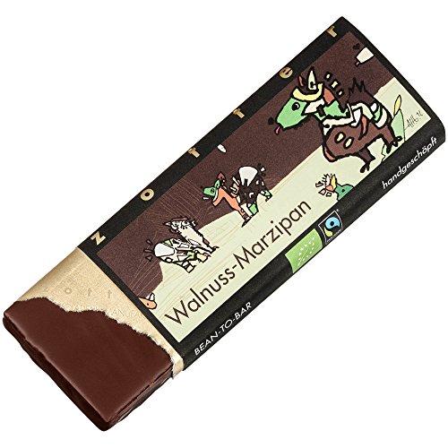 Zotter Bio Walnuss - Marzipan Schokolade 70 gr