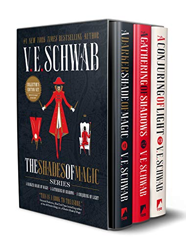 Compare Textbook Prices for Shades of Magic Collector's Editions Boxed Set: A Darker Shade of Magic, A Gathering of Shadows, and A Conjuring of Light Collectors Edition ISBN 9781250246783 by Schwab, V. E.