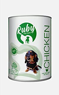 Ruby super Wet food cans for dogs (Chicken flavored)