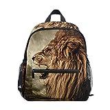 Lion Animal Mochila escolar Multi Lindo Libros, para niños y niñas, mochila de viaje para niños de 3 a 8 años de edad preescolar