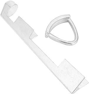 VGEBY1 Strumento Stecca Pool Stecca, Alluminio Biliardo Tip Press Shape Tool Snooker Replacement Clamp