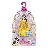 Disney Princesses – Poupee Princesse Disney Mini Poupee Royal Clips Belle - 8 cm