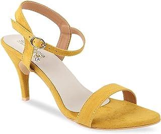 Shoetopia Women Solid Velvet Stilettos Heels