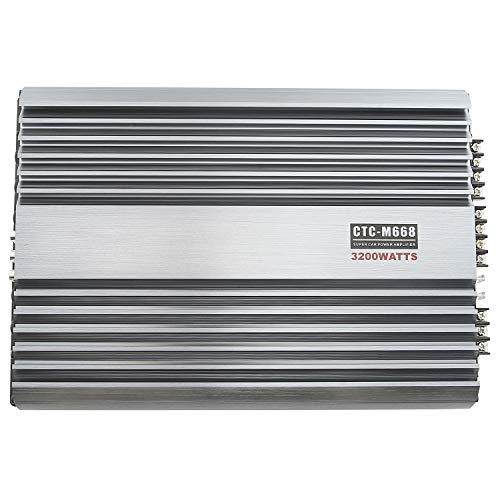 3200W 12V 4 Channel Car Amplifier Stereo Power Amp Audio 4CH Bass Sub Woofer