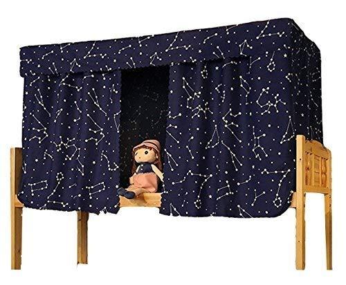 Sccarlettly Etagenbett Moskitonetz Hochbett Spielbett Bettvorhang Lichtdicht Moderne Vorhang Insektennetz Mückenschutz Für Studentenwohnheim Kinderzimmer 1.2 X 2.0 M(1Pcs)